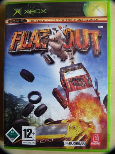 FlatOut (Bugbear Entertainment) (ENG MULTi4) L 2004 Racing скачать торрент бесплатно